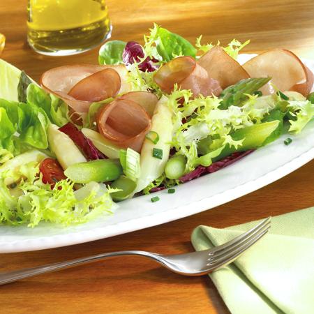 spargel schinken salat schinken. Black Bedroom Furniture Sets. Home Design Ideas
